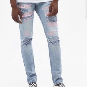 PacSun Stacked Skinny  Paradise Jeans. Size 32x30.